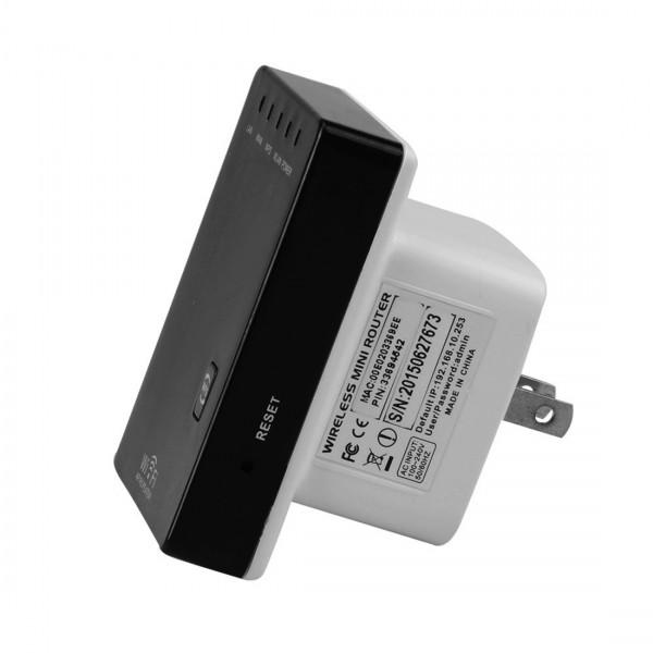 Ретранслатор рутер и усилвател за Wi-Fi с два LAN порта WF12 5