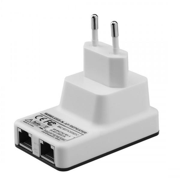 Ретранслатор рутер и усилвател за Wi-Fi с два LAN порта WF12 7