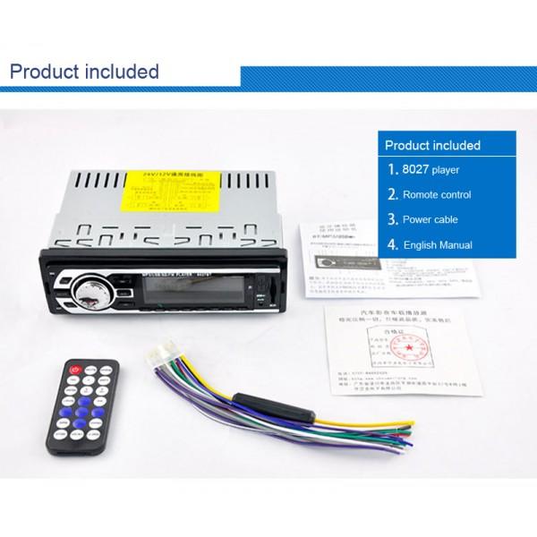 Универсален автомобилен стерео MP3 плейър с дистанционно управление 2