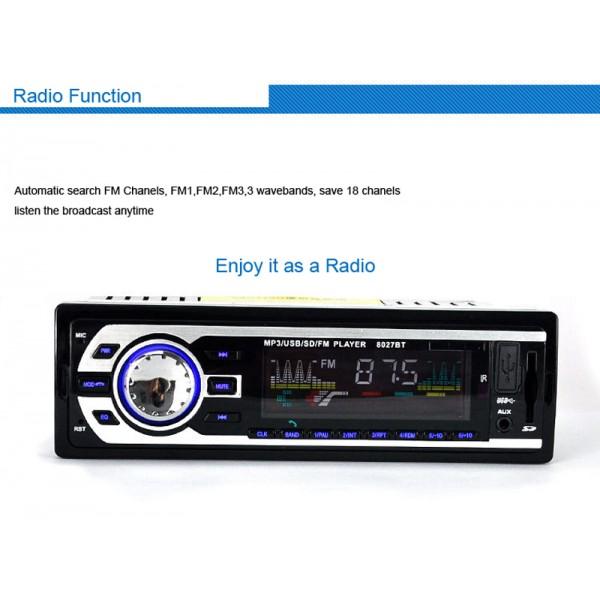 Универсален автомобилен стерео MP3 плейър с дистанционно управление 4