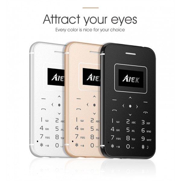 Мини мобилен телефон AIEK X8 4