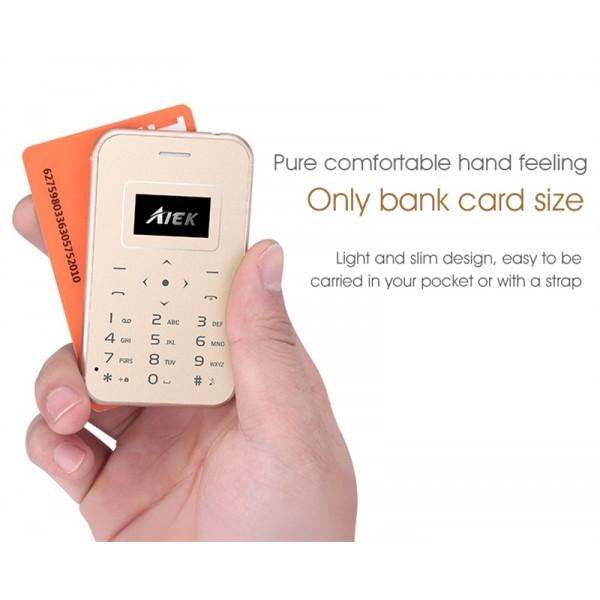 Мини мобилен телефон AIEK X8 5