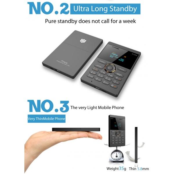 Мини мобилен телефон iFcane E1 3