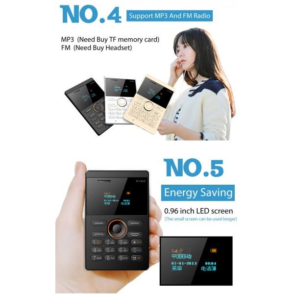 Мини мобилен телефон iFcane E1 4