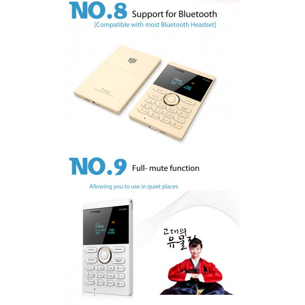 Мини мобилен телефон iFcane E1 6