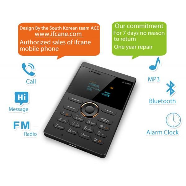 Мини мобилен телефон iFcane E1 8