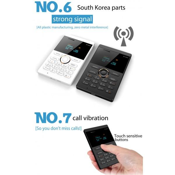 Мини мобилен телефон iFcane E1 5
