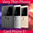 Мини мобилен телефон iFcane E1 10
