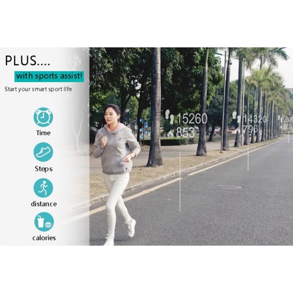 Iwown i5 plus Водоустойчива мултифункционална смарт лента за китката BT4.0 SMW6 10