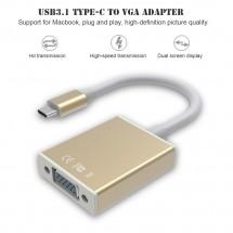Адаптер от USB Type-C към VGA CA71