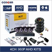 Система за видео наблюдение с 4 камери и DVR устройство