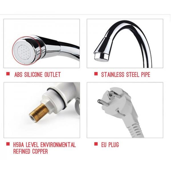 Смесител за вода с нагревател за мигновено загряване 3000W TV69 10