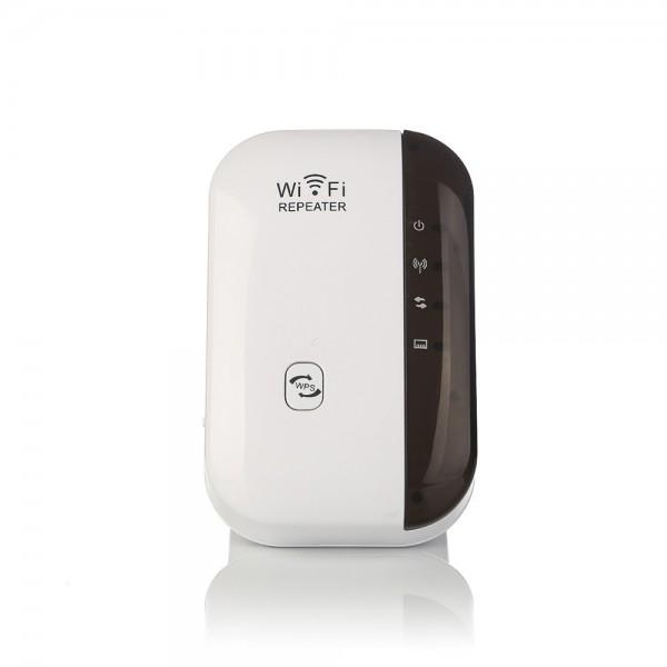 Безжичен ретранслатор на Wi-Fi сигнал с вграден усилвател WF13 10