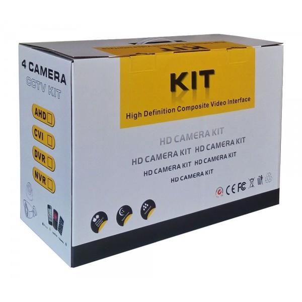Комплект за видеонаблюдение, 4 канален WiFi NVR и 4 броя 1.3MP безжични IP камери 7