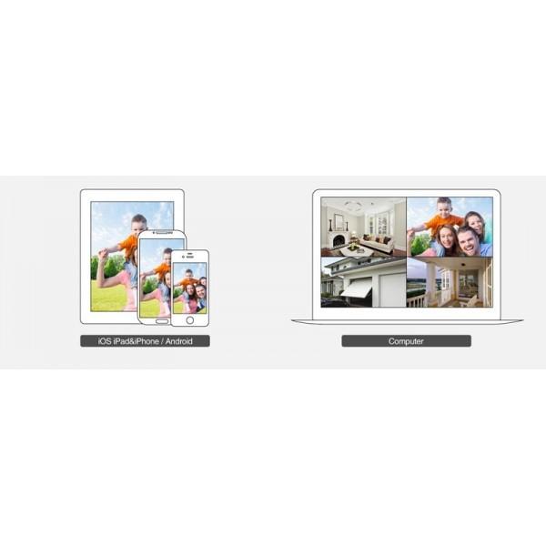 Пълен комплект за система за видеонаблюдение 8 камери и DVR устройство 9