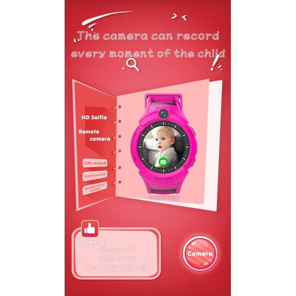 Смартчасовник за деца с функции за родителски контрол A17 6