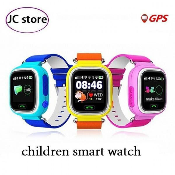 Детски смартчасовник с функции за проследяване и родителски контрол Q90 4