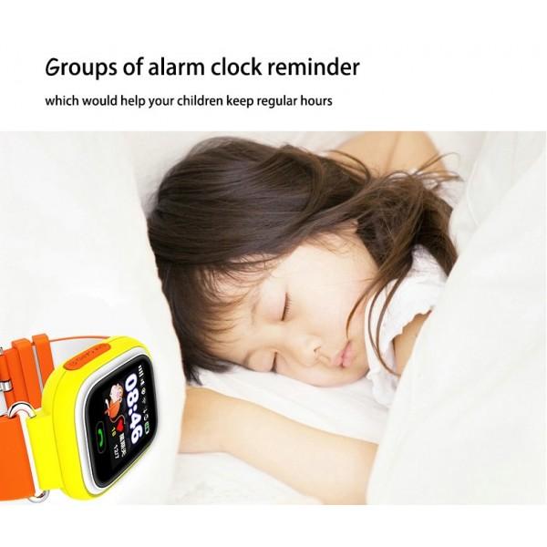 Детски смартчасовник с функции за проследяване и родителски контрол Q90 8
