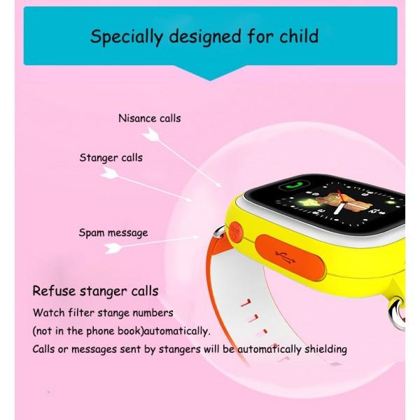 Детски смартчасовник с функции за проследяване и родителски контрол Q90 11