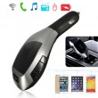 Bluetooth трансмитер за автомобил с LCD дисплей X5 HF8 6
