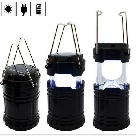 Соларна преносима лампа за къмпинги и туризъм CAMP LAMP2B