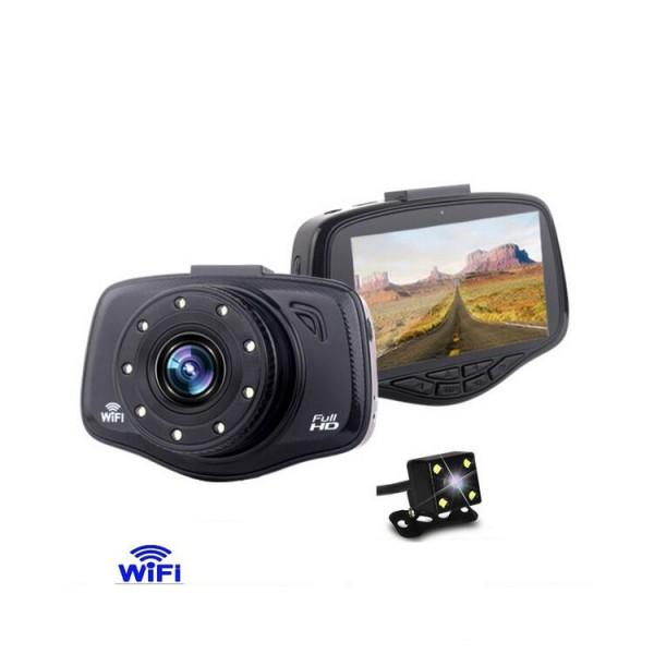 Видеорегистратор W900B с WiFI и страхотно качество AC40