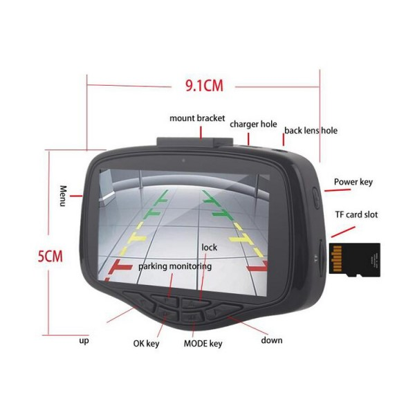 Видеорегистратор W900B с WiFI и страхотно качество AC40 2