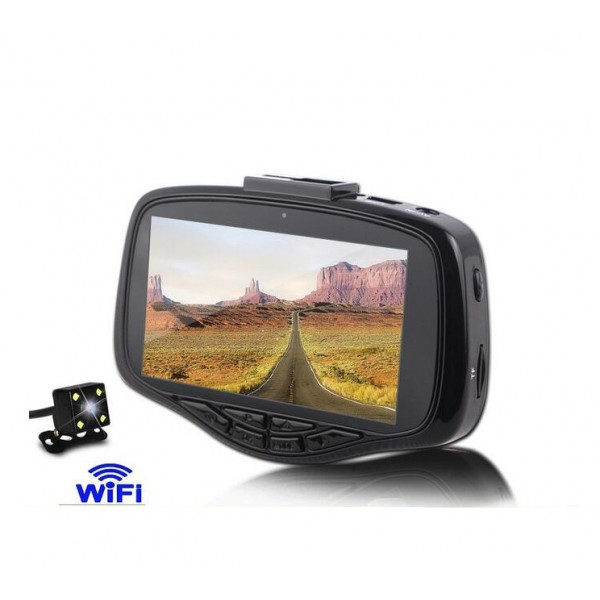 Видеорегистратор W900B с WiFI и страхотно качество AC40 4