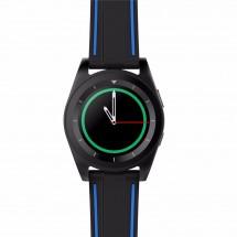 Стилен хибриден часовник G6 с много екстри