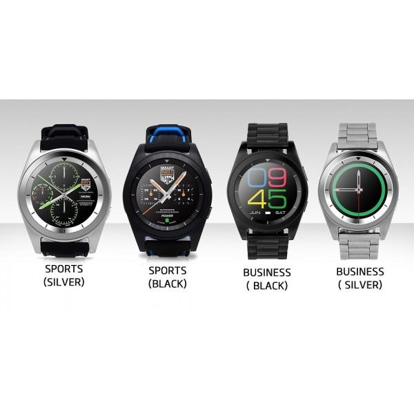 Стилен хибриден часовник G6 с много екстри SMW14 12