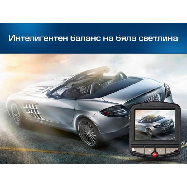 Видеорегистратор за кола GT300 Full HD с функция WDR -3Mpx AC26 9