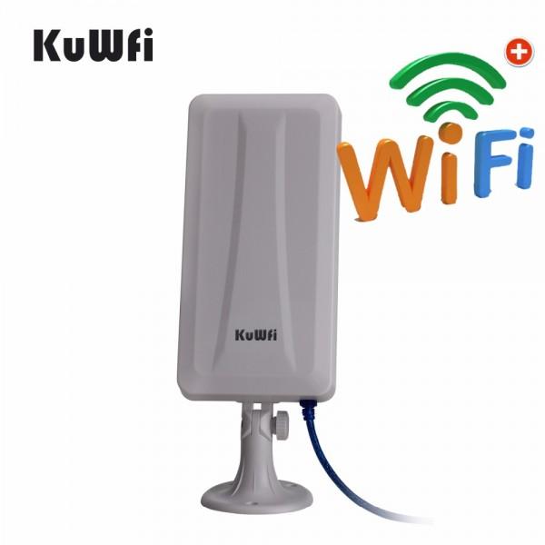 WiFi рутер и външна антена за прихващане и излъчване на WiFi сигнал WFR190 2
