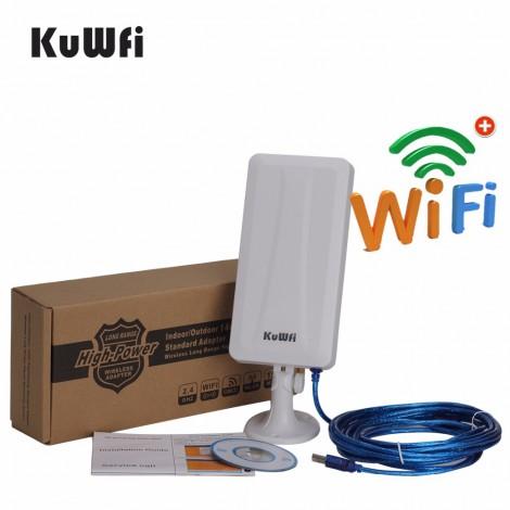WiFi рутер и външна антена за прихващане и излъчване на WiFi сигнал WFR190