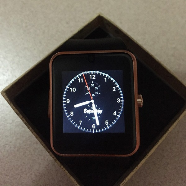 Smart Watch GT08 Clock Sync Notifier 8