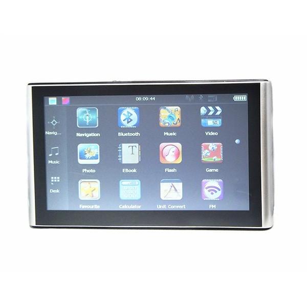 Нова 7-инчова GPS навигация с 256 м/8 GB CPU800M + FM + Език + карти 9