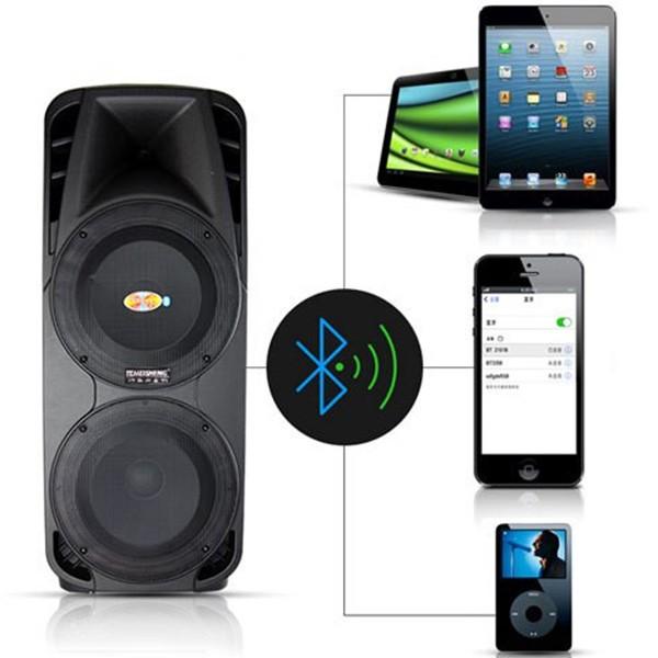 Високоговорител A86 със супер бас FM радио мощност от 400 W 1
