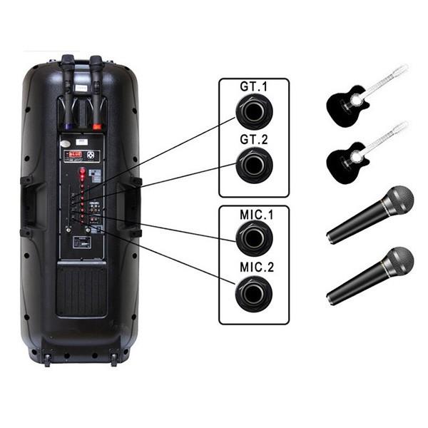 Високоговорител A86 със супер бас FM радио мощност от 400 W 3