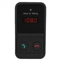 Безжичен MP3 трансмитер с Bluetooth, FM радио SD карта памет до 32 GB HF301 HF11