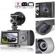 Видеорегистратор с 2 камери X3000 R300 с 2.7 GPS AC42 6