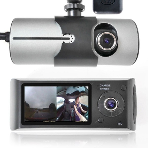 Видеорегистратор с 2 камери X3000 R300 с 2.7 GPS AC42