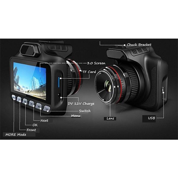 Видеорегистратор за кола с високо качество A6 T100 30 Full HD 1080 P 5