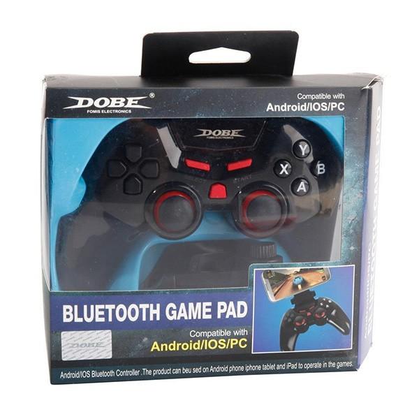 DOBE TI 465 - Безжичен джойстик с Bluetooth за PC и други игри, Αndroid и iOS 12