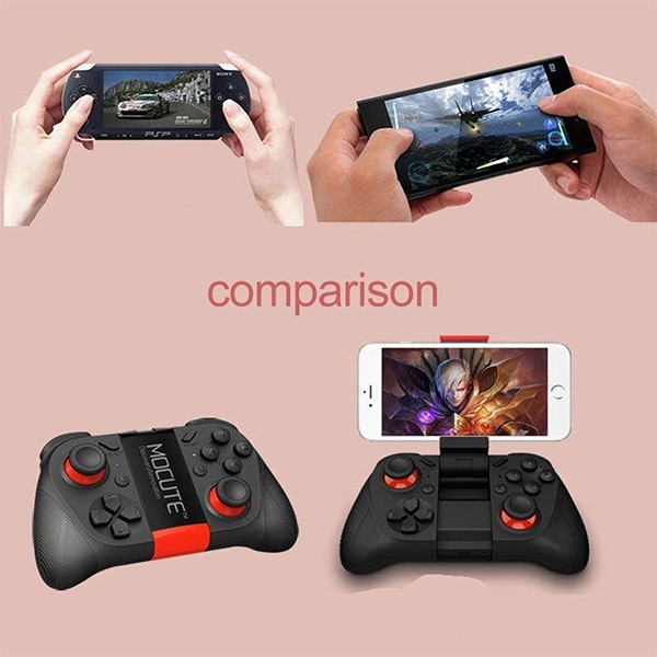 Безжичен джойстик MOCUTE с Bluetooth и поддръжка за смартфони, таблети и PC PSP9 3