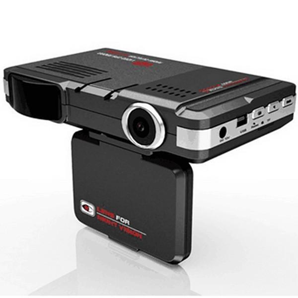 DVR видеорегистратор 2 в 1 с дисплей 2 инча камера и радар за скорост AC51 3
