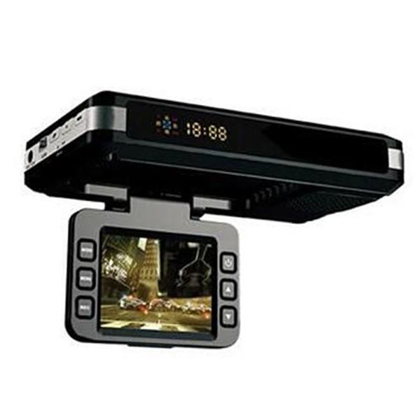 DVR видеорегистратор 2 в 1 с дисплей 2 инча камера и радар за скорост AC51 5