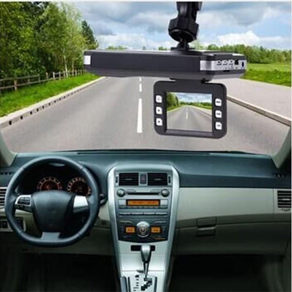 DVR видеорегистратор 2 в 1 с дисплей 2 инча камера и радар за скорост AC51 6