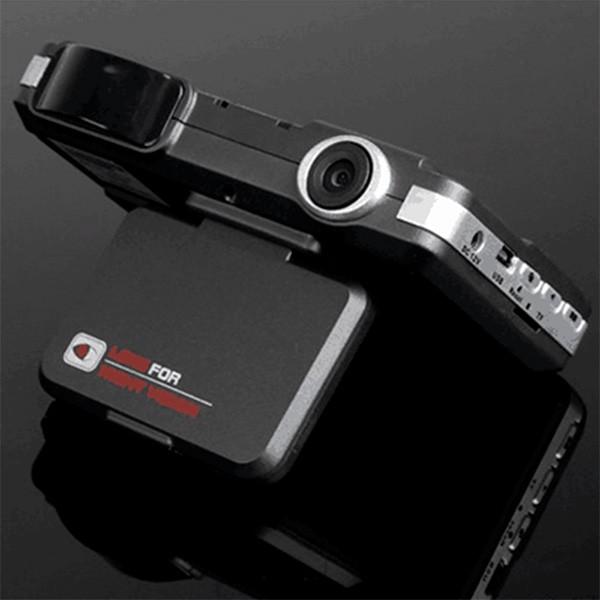 DVR видеорегистратор 2 в 1 с дисплей 2 инча камера и радар за скорост AC51 7