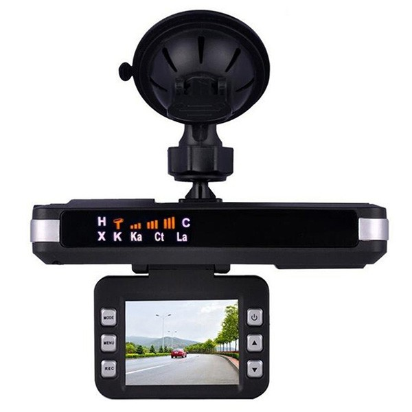 DVR видеорегистратор 2 в 1 с дисплей 2 инча камера и радар за скорост AC51 10