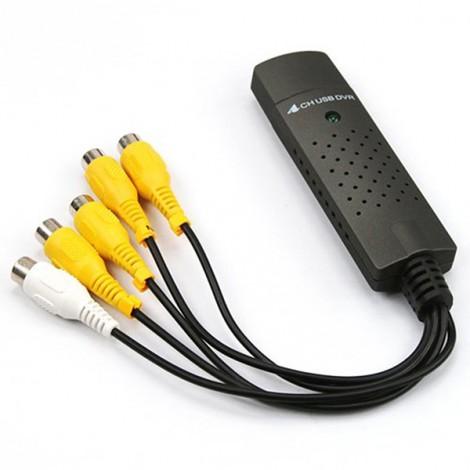 DVR адаптер 4 канален USB вход CA62