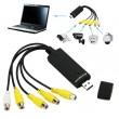 DVR адаптер 4 канален USB вход CA62 2